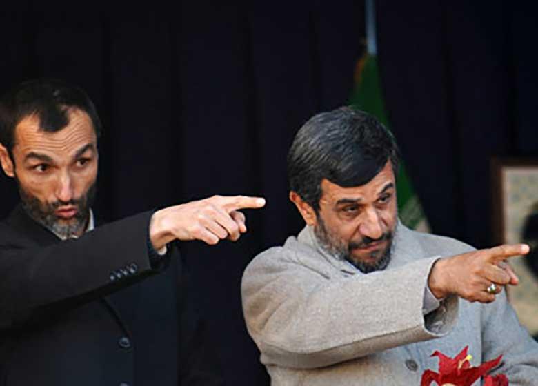 حمله به شورای نگهبان توسط باند احمدی نژاد و بقایی