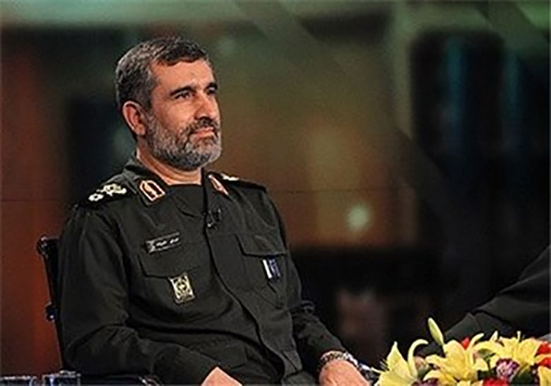 سردار حاجیزاده با لاریجانی دیدار کرد