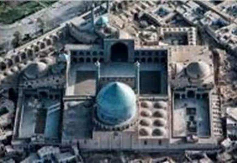 کشف آبراهه های جدید در مسجد امام اصفهان