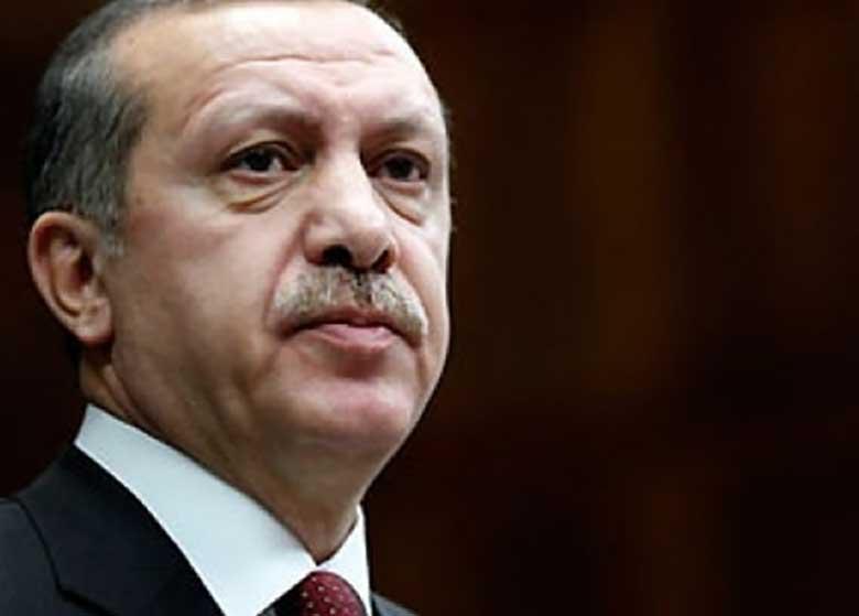 اردوغان: سوریه در حال تکه تکه شدن است