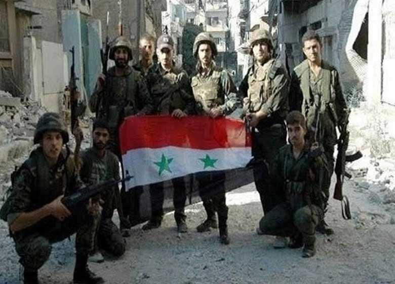 دستاورد استراتژیک ارتش در حومه دمشق / آزادسازی ۵۰ کیلومتر مربع و ثبات کامل مرزهای سوریه و لبنان