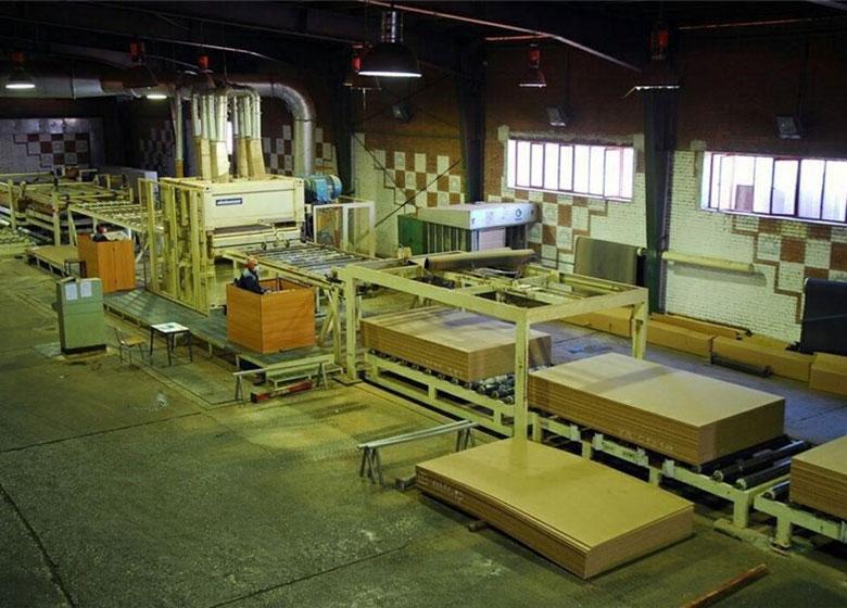 تولید در کارخانه نئوپان خلخال متوقف شد