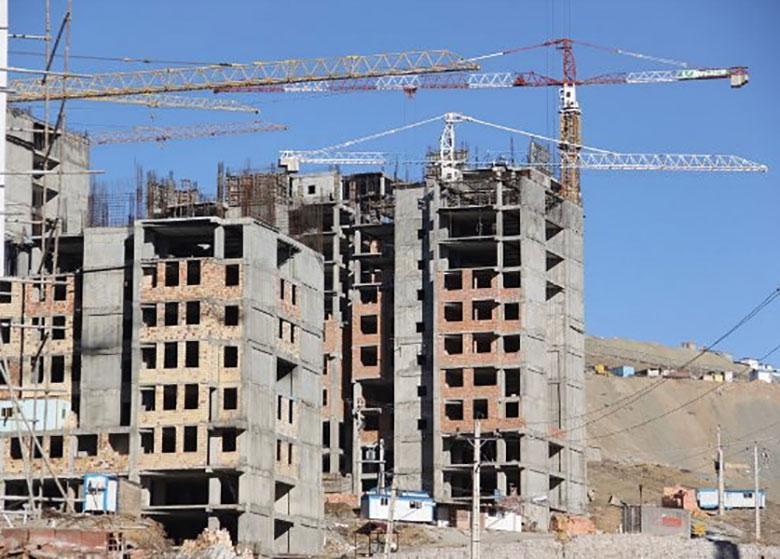 نوسانات نرخ مصالح ساختمان