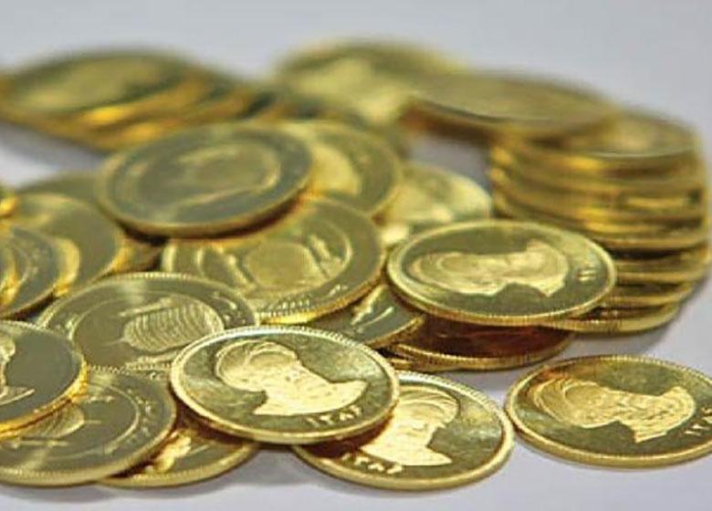 افت جمعی قیمت انواع سکه