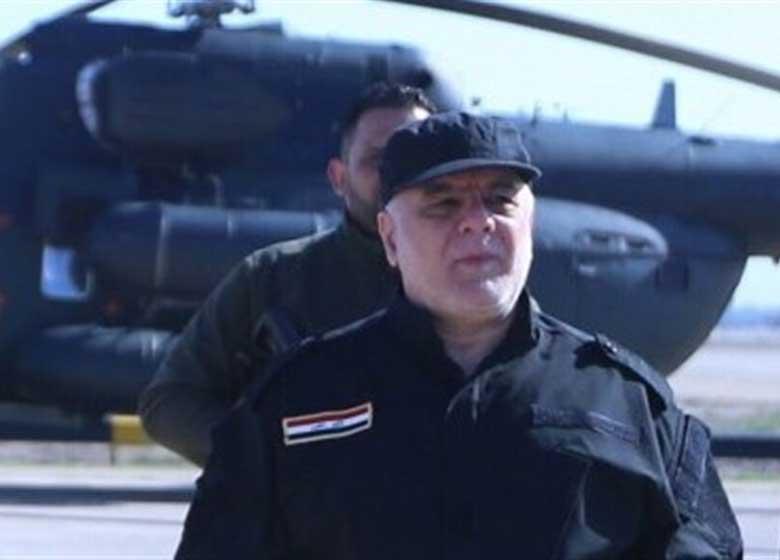 العبادی: با تلاشهای حشدالشعبی میتوانیم همه مناطق عراق را آزاد کنیم