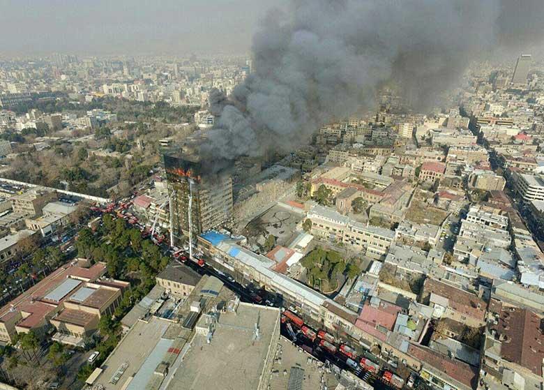 شورای شهر تهران از گزارش پلاسکو قانع نشد