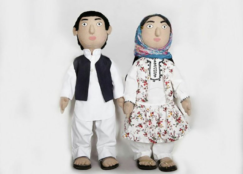 هامون و اوشیدا عروسکهای سیستانی