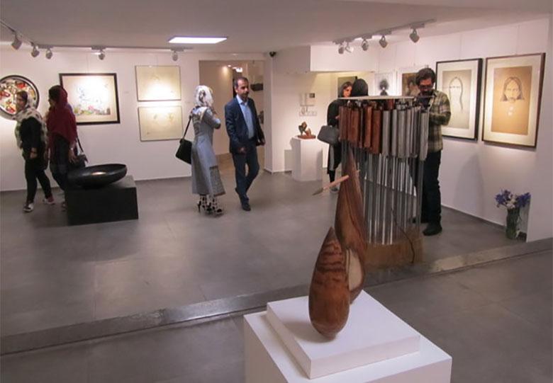 46 23 نمایشگاه, بازخوانی پیرامون, مجسمهساز, مجسمههای صوتی, فریدون فربود