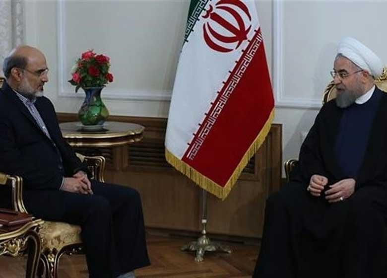 """اعتراض """"رئیسی"""" به تبلیغ ویژه رسانه ملی برای """"روحانی"""""""