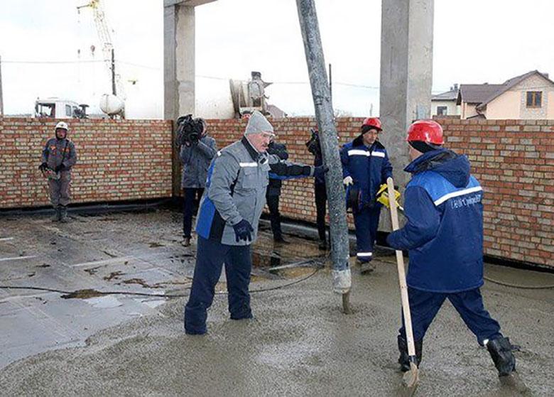 حمایت رئیس جمهور بلاروس از ساخت مسکن ارزان قیمت