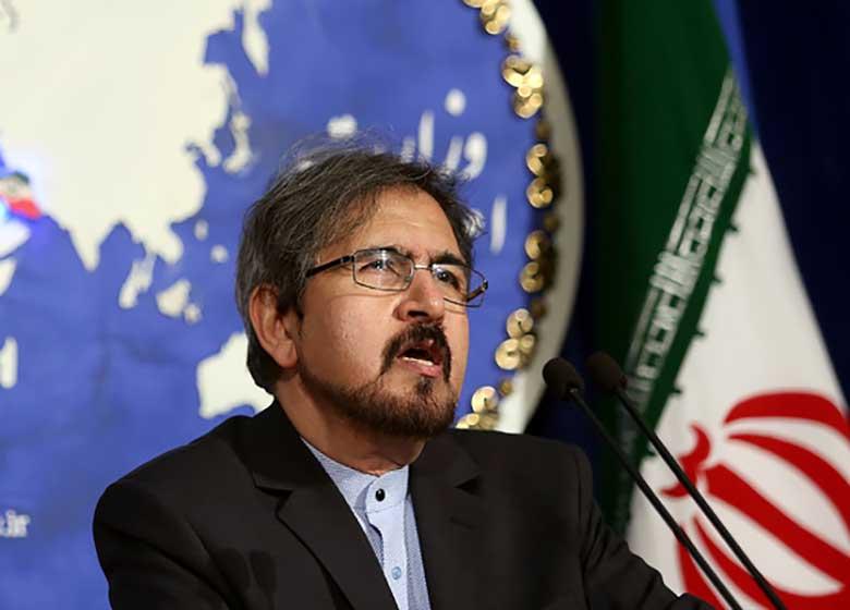 قاسمی انتقال پیام آمریکا به ایران از طریق روسیه را تکذیب کرد