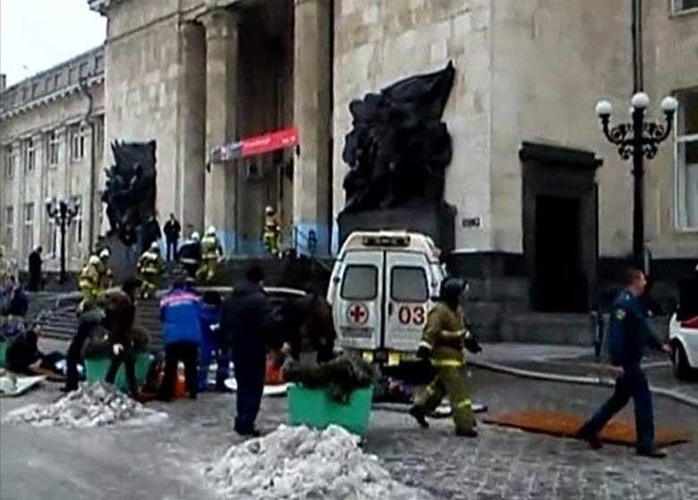 انفجار در روسیه ۲ کشته برجای گذاشت