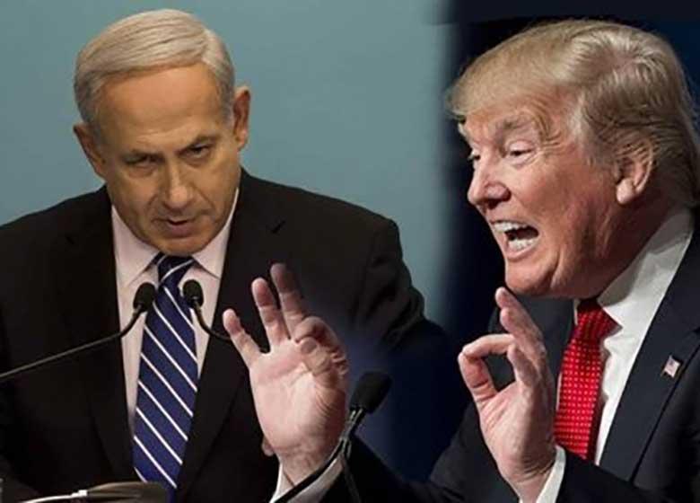دست رد نتانیاهو به سینه ترامپ