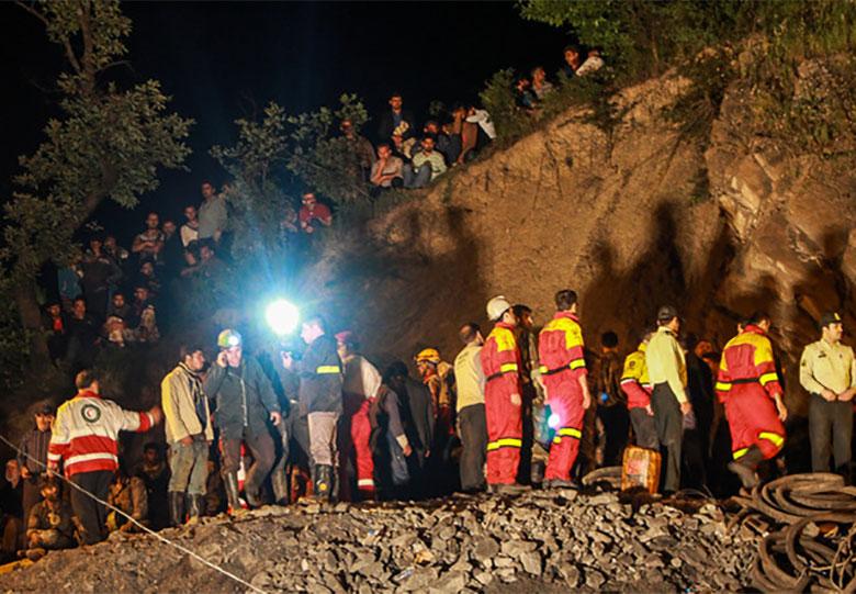 آغاز تحقیقات میدانی درباره حادثه معدن آزادشهر