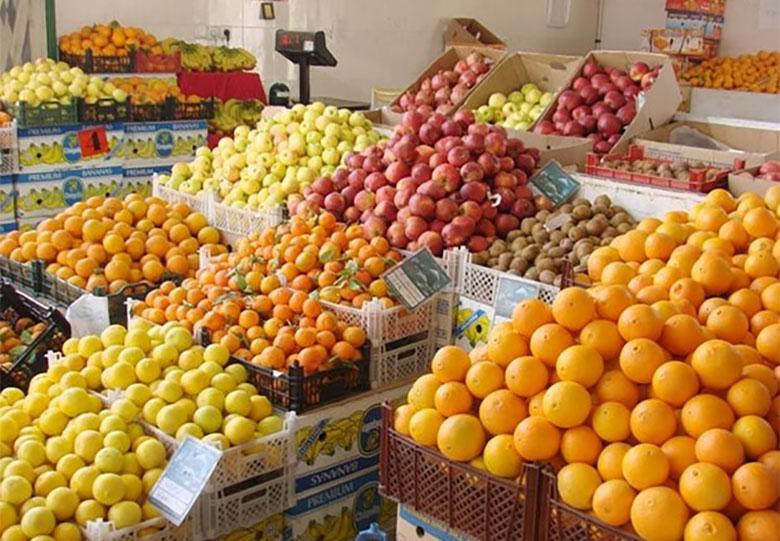 آشفته بازار میوه تهران