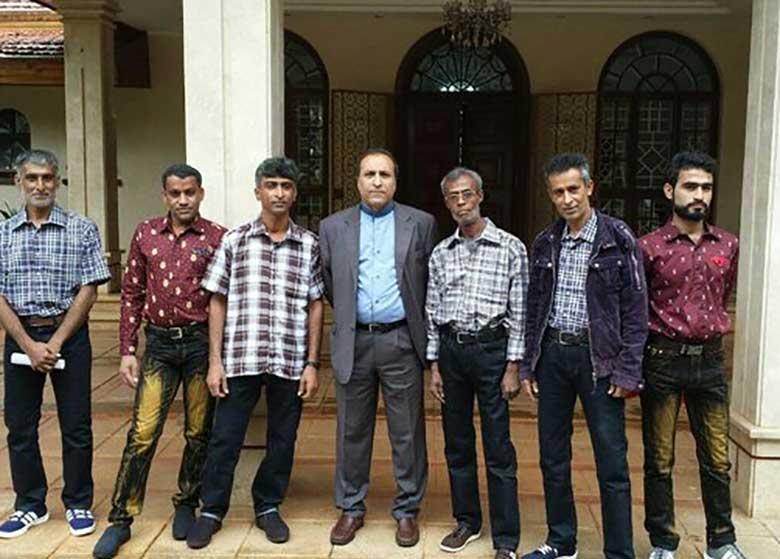 ۶ ملوان ایرانی به کشور بازگشتند