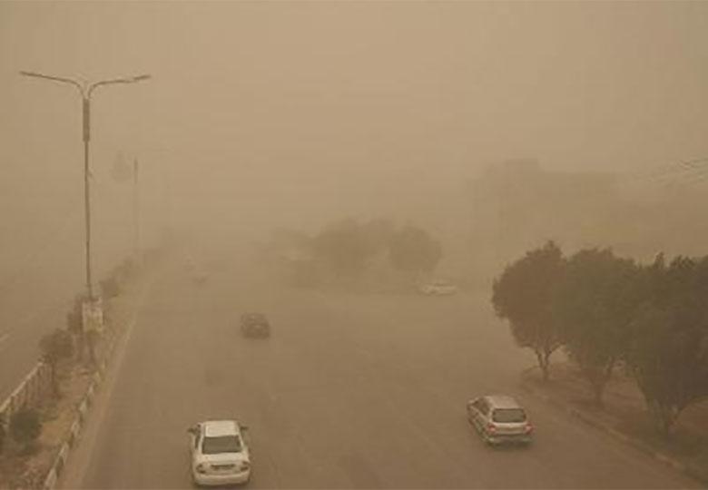 پدیده گرد و خاک استان های خوزستان و ایلام را در بر می گیرد