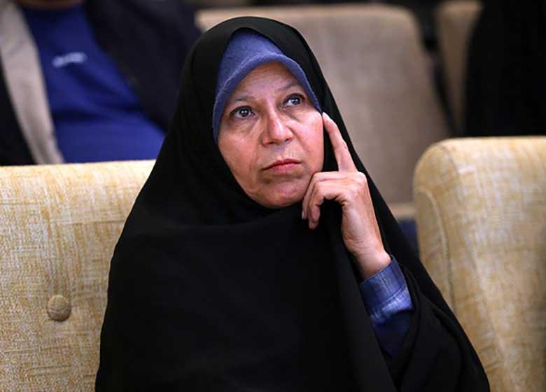 حکم قضایی دلیل لغو سخنرانی فائزه هاشمی