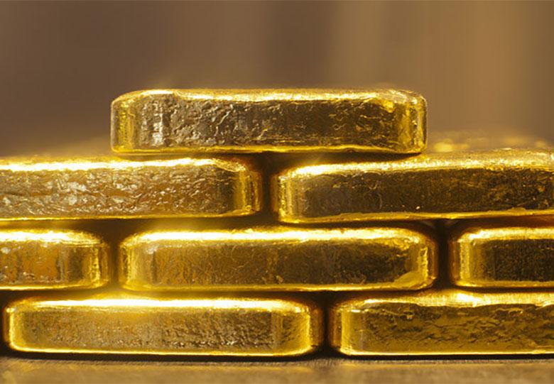 ریزش بیش از ۴۰ دلاری قیمت طلا در بازار جهانی