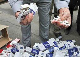 کشف ۱.۵ میلیارد نخ سیگار قاچاق در سال ۹۵