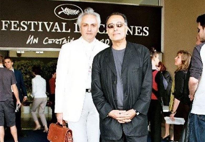 یادبود عباس کیارستمی و علی معلم در چتر سینمای ایران
