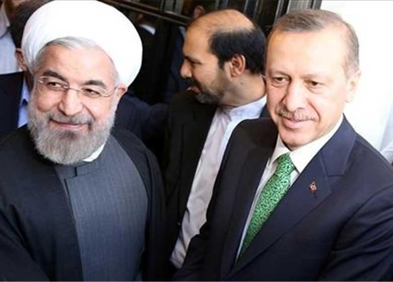 تماس تلفنی اردوغان با روحانی و تبریک به وی