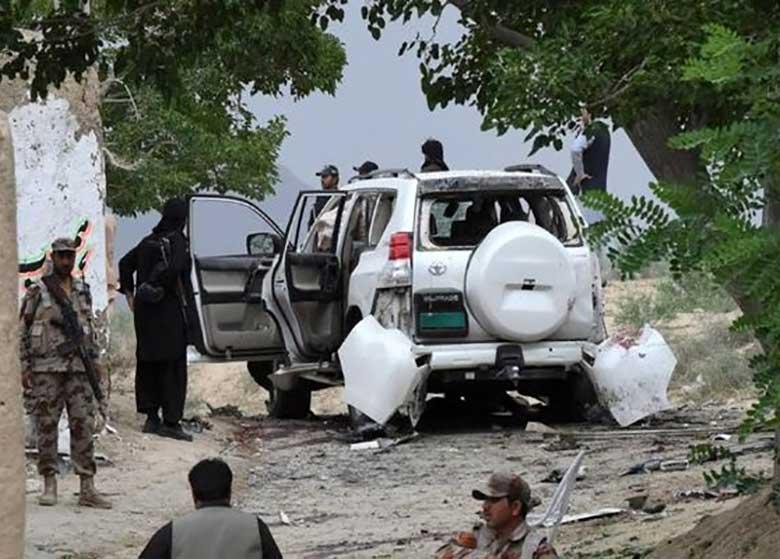 انتشار تصویر عامل انتحاری حمله به کاروان نایب رئیس سنای پاکستان