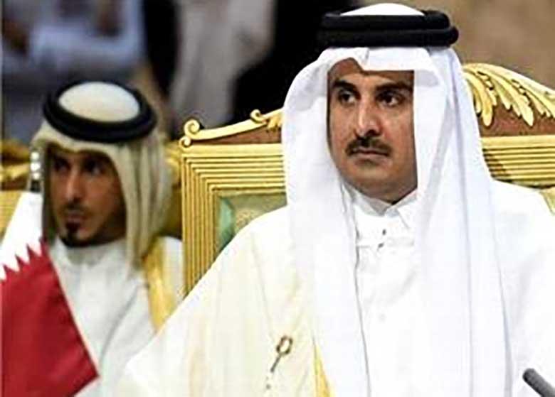 جنجال بر سر اظهارات منسوب به امير قطر درباره ايران