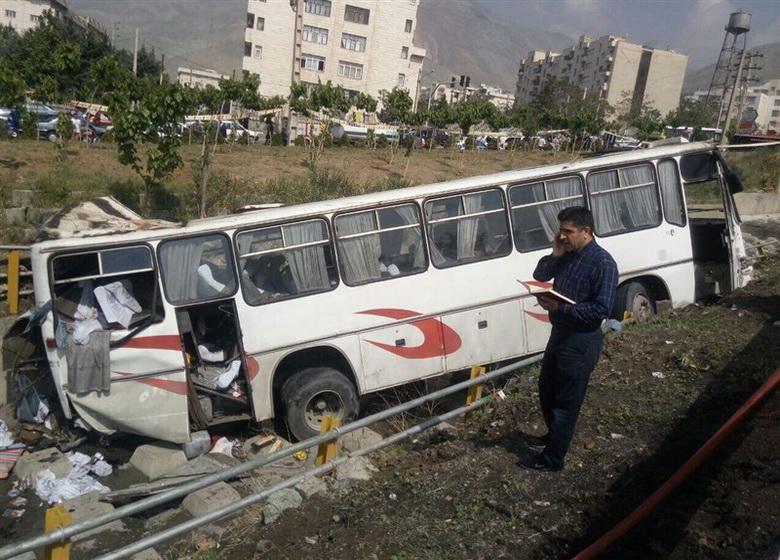 توضیحات آموزش و پرورش در خصوص حادثه تصادف اردوی دانش آموزان