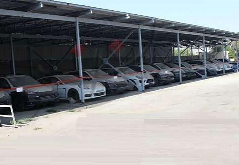 ۸۶ دستگاه خودروی لوکس وارداتی متوقف شد + تصویر