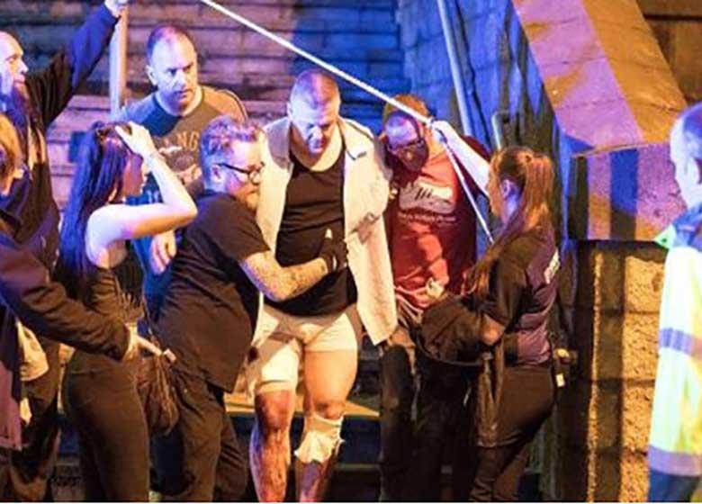انفجار در یک سالن کنسرت در منچستر انگلیس / تلفات: ۱۹ کشته، ۵۹ زخمی