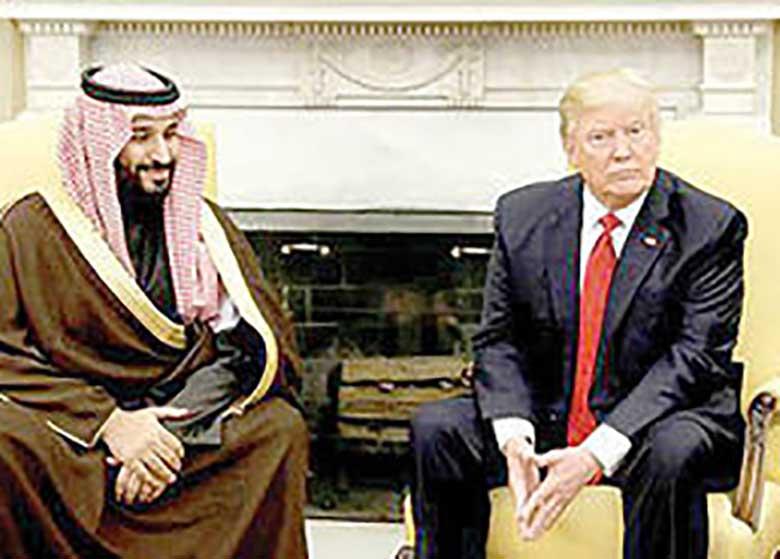 ترامپ سعودیها را سورپرایز می کند