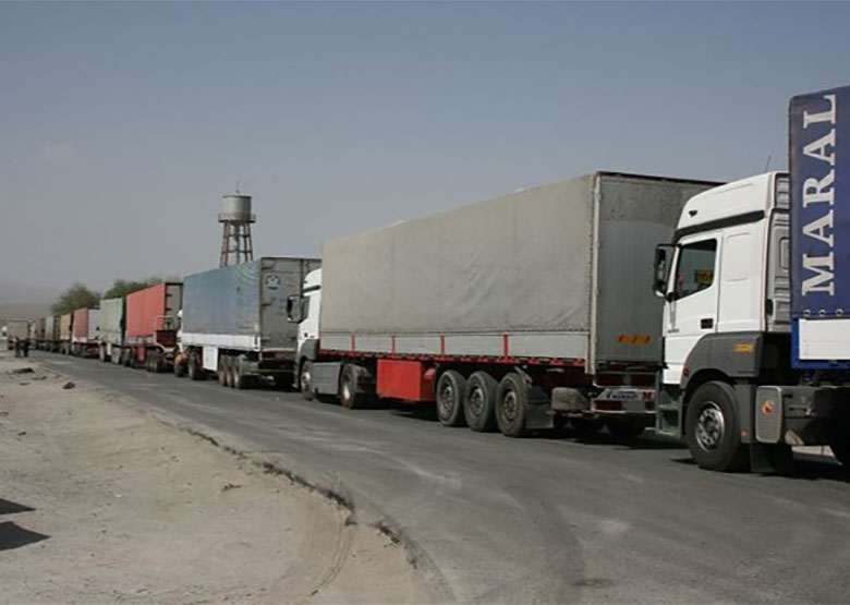 ترانزیت بیش از ۷ میلیون تن مواد نفتی و غیر نفتی از مرزهای کشور