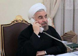 تماس تلفنی رییس جمهور جدید فرانسه با روحانی