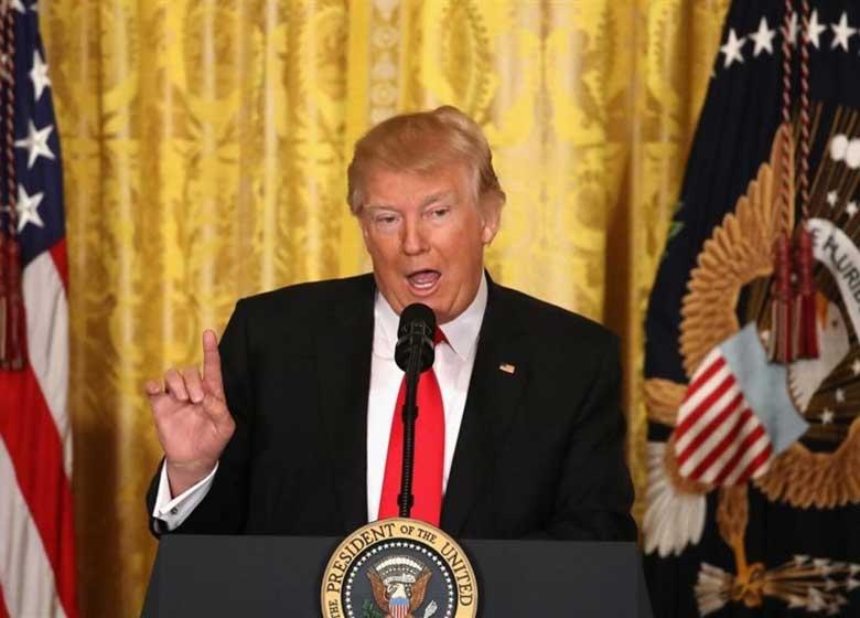 ترامپ اعتراف کرد اهمیتی برای قانون اساسی آمریکا قائل نیست