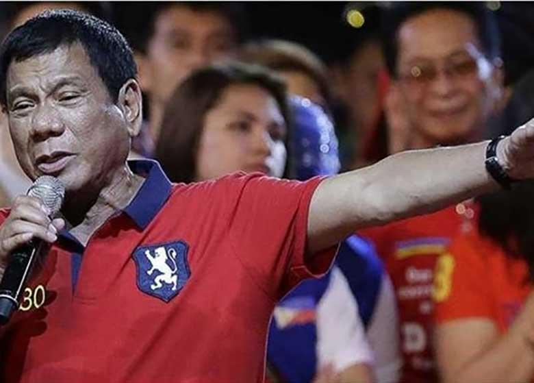 اظهارات جنجالی رئیس جمهوری فیلیپین درباره زنان