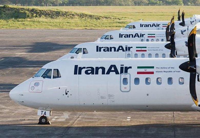 ۴ هواپیمای ATR ایران به زمین نشستند