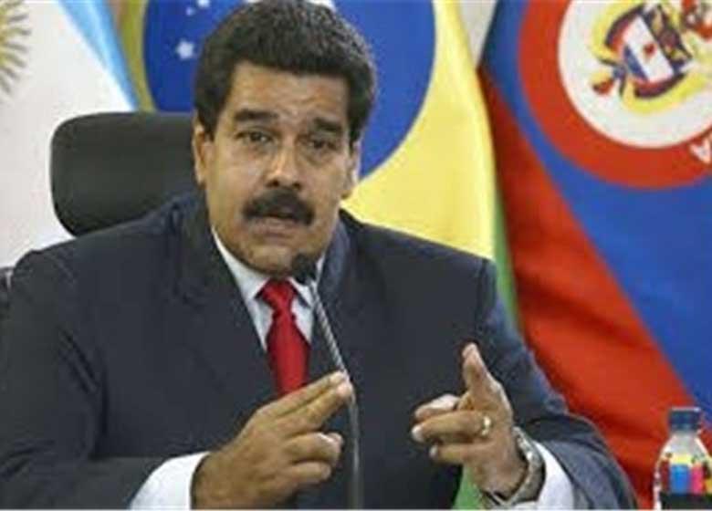 مادورو خطاب به ترامپ: دستان کثیفت را از ونزوئلا خارج کن