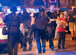 گزارش تصویری از حمله تروریستی منچستر انگلیس