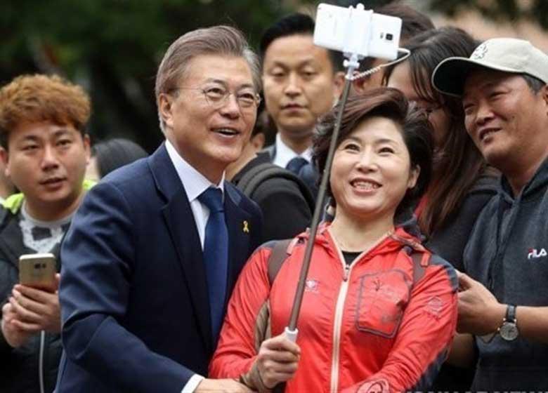 اختلاف نظر رئیس جمهور جدید کره جنوبی با ترامپ بر سر کره شمالی