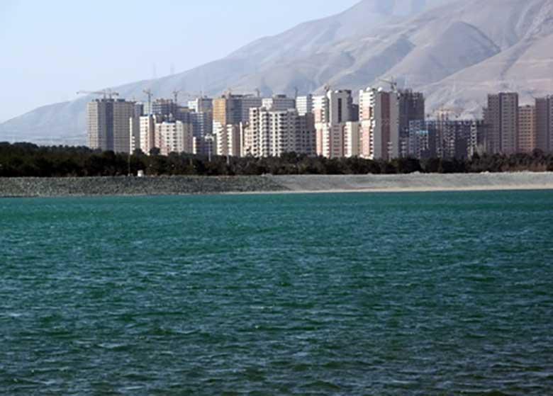 دریاچه چیتگر درحال خشک کردن تدریجی منطقه ۲۲ است