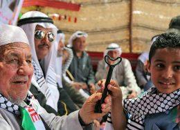 اعتراض فلسطینیان در روز نکبت