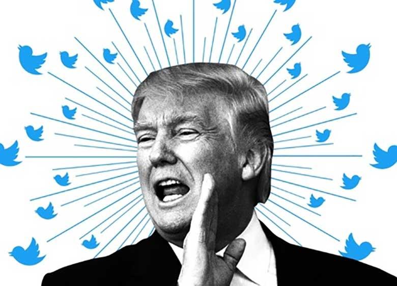توئیت تازه ترامپ با یک کلمه بیمعنا در پایان