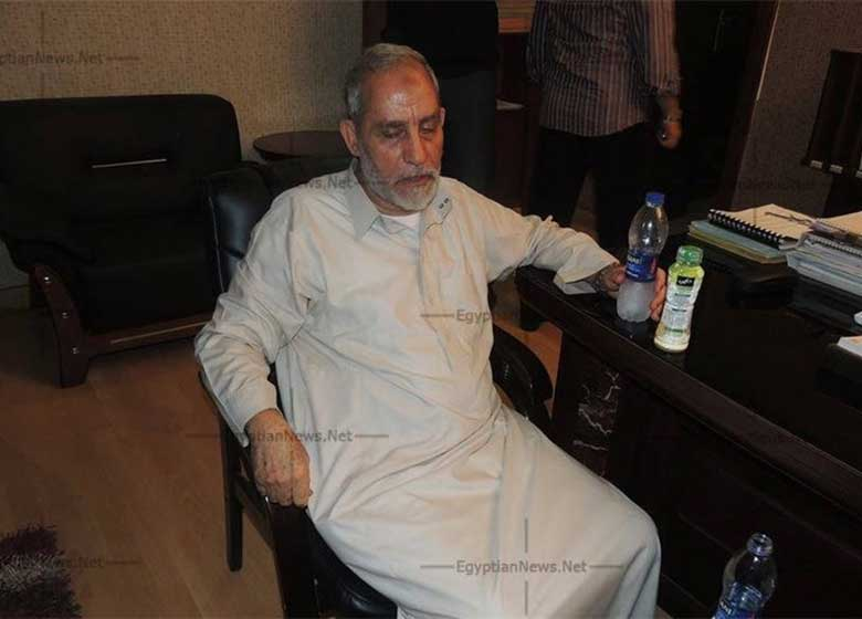 رهبر اخوانالمسلمین به حبس ابد محکوم شد