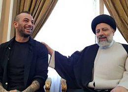 چشمها به احمدینژاد خیره شد؛ کدام نفوذی، تتلو را به دیدار رییسی در فرودگاه برد؟