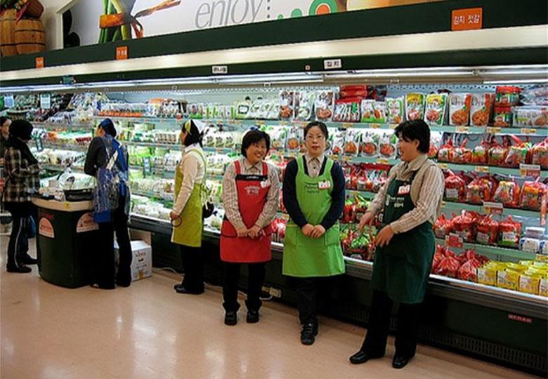 کالاهای محلی در بازارهای کره شمالی در حال افزایش است