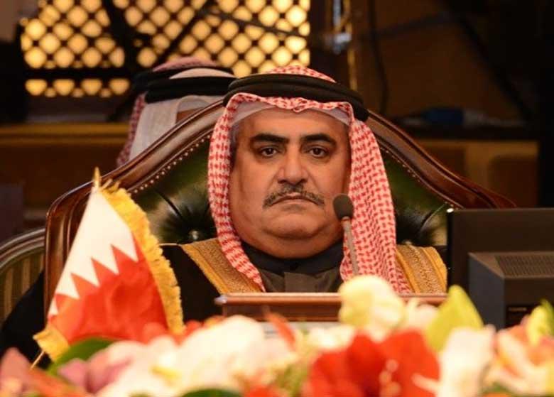 گستاخی وزیر خارجه بحرین علیه ایران