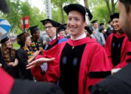 بازگشت باشگوه زاکربرگ به هاروارد