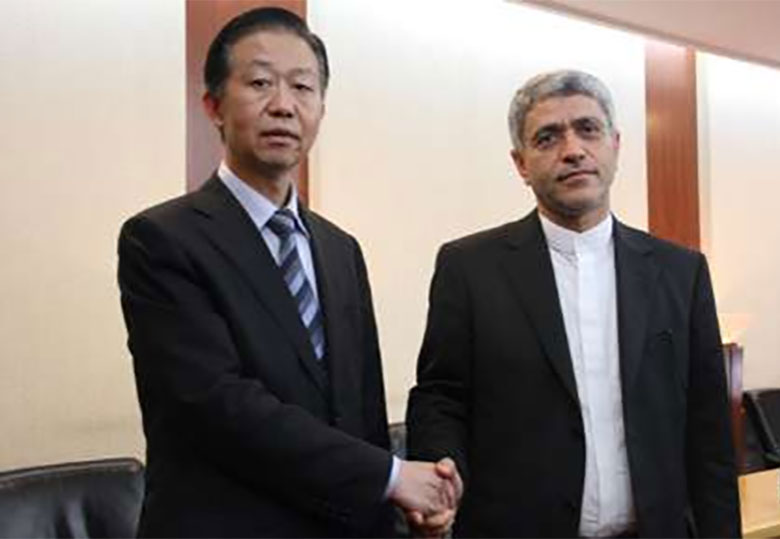 طیب نیا با وزیر دارایی چین دیدار کرد