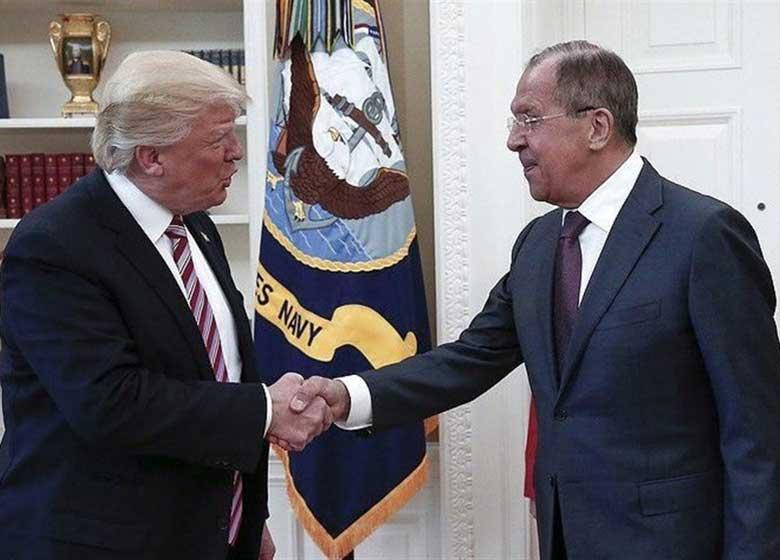 دیدار لاوروف و ترامپ نقطه عطفی در روابط مسکو و واشنگتن